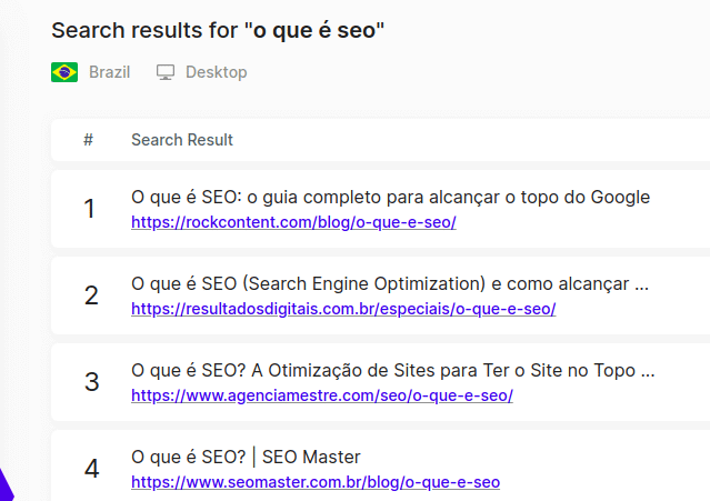 Serp Checker